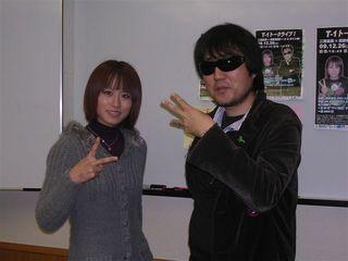 二見と長野美香選手