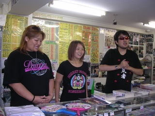 左から井上京子選手、Sareee選手、二見