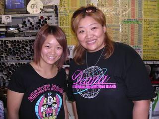 Sareee選手と井上京子選手