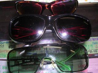 今年壊れた3つのサングラス