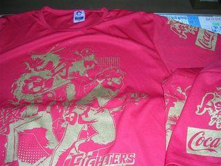 北海道日本ハムアジアンTシャツ