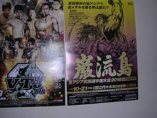 巌流島、VTJポスター