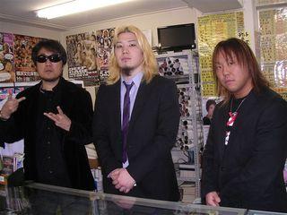 左から二見、矢野、佐野