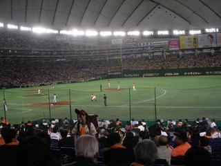 巨人阪神1塁側