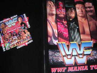WWFマニアツアーパンフ